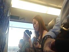 Секс азиаток в поезде 29